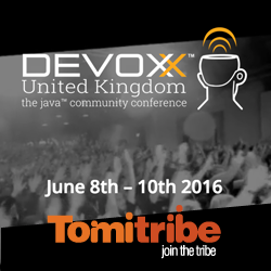 Tomitribe - Devoxx UK 2016