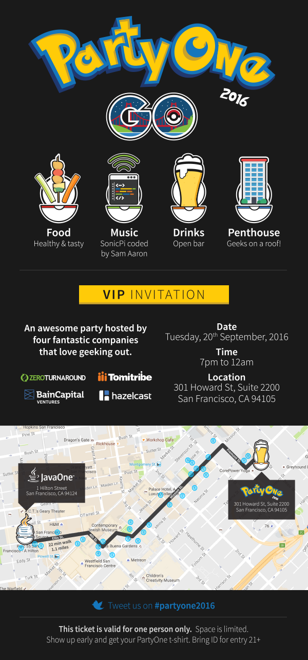 PartyOne GO 2016