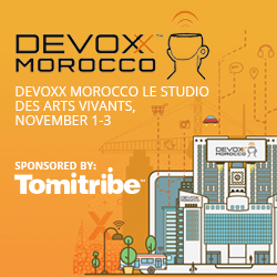 Tomitribe at Devoxx Morocco
