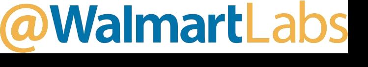@WalmartLabs case study