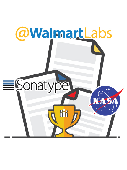 Walmart, NASA, Sonatype