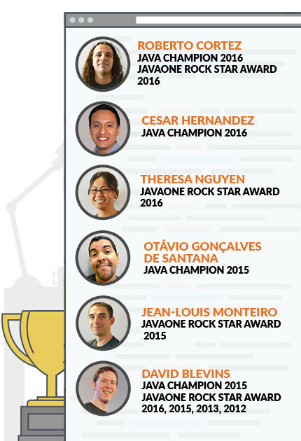 Tomitribe Java Champions and JavaOne Rockstar Award Recipients